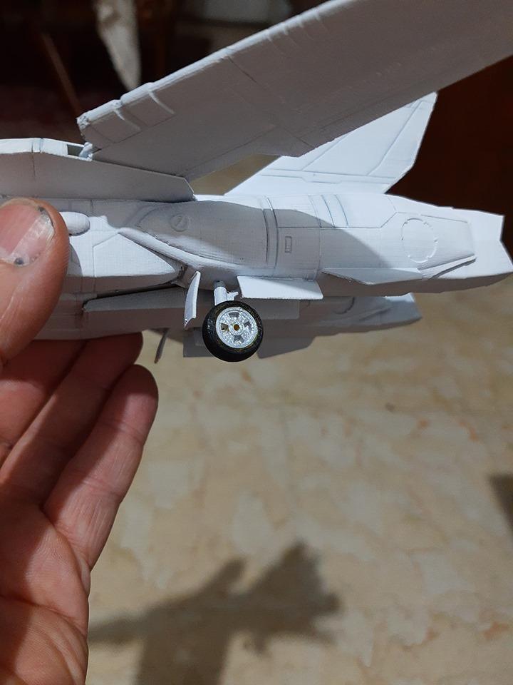 80716180_2938975809467751_772143130211254272_n.jpg Download STL file Vf1 Robotech V2.0 • 3D printable template, Nico_3D