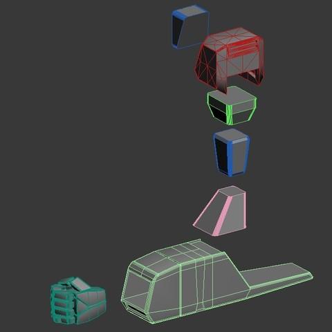 6.jpg Download STL file VF1 • 3D print design, Nico_3D
