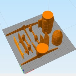 3d printer model Hercules c 130, Nico_3D