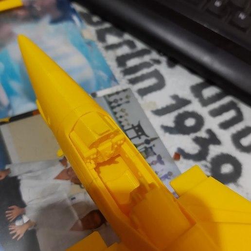 75543721_2809937742371559_6258919552558563328_n.jpg Download STL file Vf1 Robotech V2.0 • 3D printable template, Nico_3D