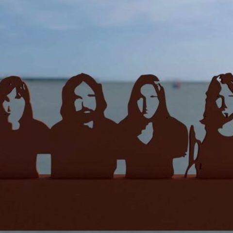 Free 3D model Pink Floyd, albino