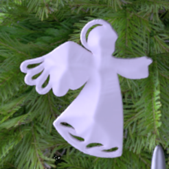 Download free 3D printing models Christmas decoration, albino
