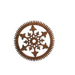Free 3D printer designs steampunk gear, albino