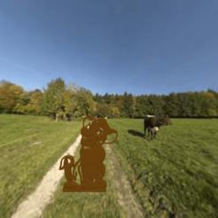 lion.png Télécharger fichier STL gratuit pendentif roi lion • Plan pour imprimante 3D, albino
