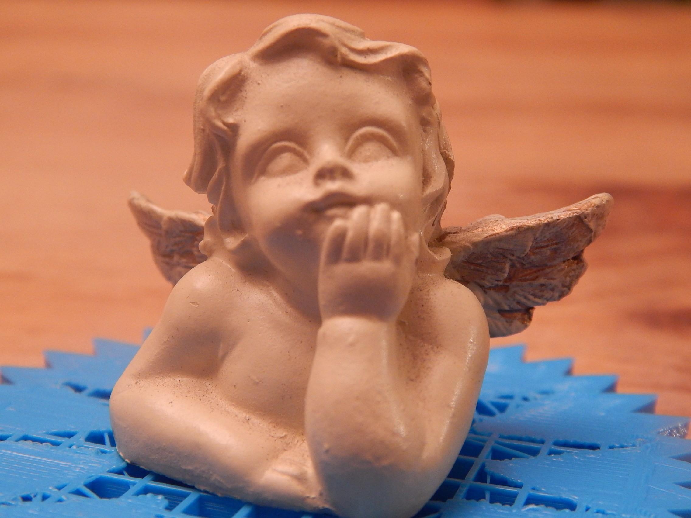 DSCN0021.JPG Download free STL file angel • Object to 3D print, albino