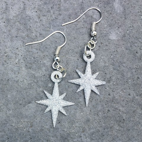 Free 3d model Starflake Earrings, printfutura