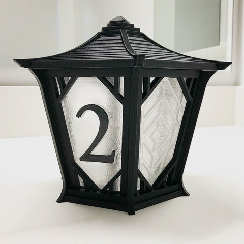 lantern_2.jpg Download free STL file Japanese Centerpiece Lanterns for Wedding • Template to 3D print, printfutura