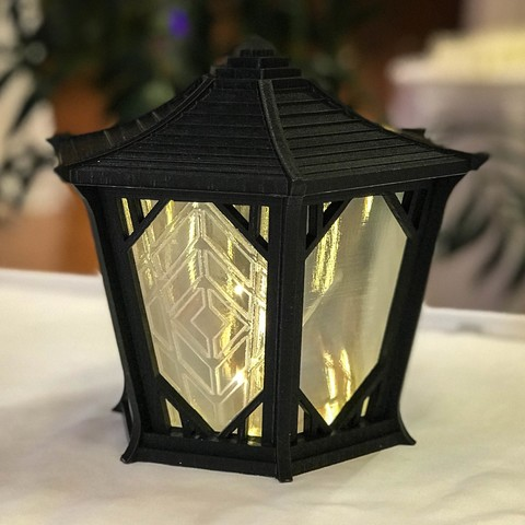 event_4.jpg Download free STL file Japanese Centerpiece Lanterns for Wedding • Template to 3D print, printfutura