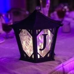 Free 3D printer file Japanese Centerpiece Lanterns for Wedding, printfutura