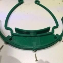 IMG_3312.JPG Download free STL file Shields+-+ Bodacious Robo mesh visor • 3D print template, CE_FABLAB_FREE_WORK_EXCHANGE
