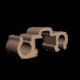 Télécharger fichier STL gratuit Clip double inverse rail alu 20x20mm • Objet à imprimer en 3D, CE_FABLAB_FREE_WORK_EXCHANGE