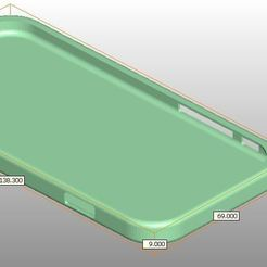 Download free 3D printing models Protection for Iphone 6s in TPU, riri26