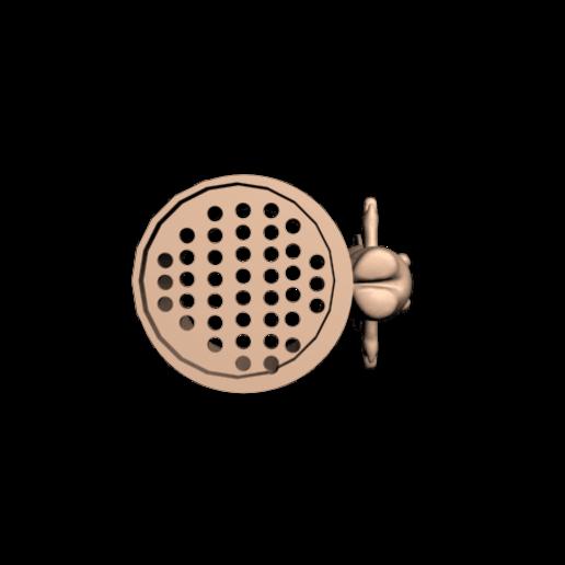 Lapin cretin 1 verre 4.png Download free STL file Glass for draining toothbrushes Rabbid rabbit • 3D printing design, CE_FABLAB_FREE_WORK_EXCHANGE