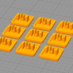 Download free 3D printing files 9 Aluminium profile terminations 20X20mm, CE_FABLAB_FREE_WORK_EXCHANGE