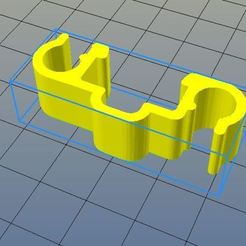 Télécharger fichier impression 3D gratuit Clip double inverse rail alu 20x20mm, riri26