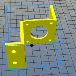 Télécharger STL gratuit Support moteur gauche imprimante Anet A10, riri26