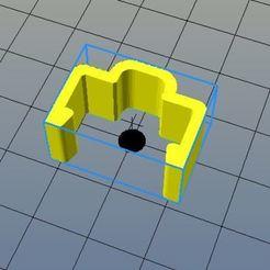 Télécharger fichier STL gratuit clip simple pour rail alu 20x20mm, riri26