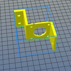 Download free 3D printer model Support nema17 anet e10 right, riri26