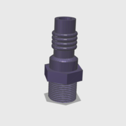Download free 3D printer designs Fitting for 1000L DIAM tank 12mm 3-4 inch passage, CE_FABLAB_FREE_WORK_EXCHANGE