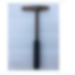 Manche marteau soudure.stl Download free STL file Repair hammer handle for welder • 3D printable model, CE_FABLAB_FREE_WORK_EXCHANGE