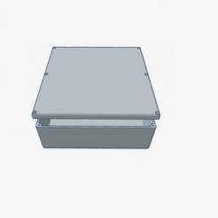1boite v3.PNG Télécharger fichier STL gratuit BOX INVENTOR V3 60x60x20mm capot ep 3mm • Plan pour impression 3D, CE_FABLAB_FREE_WORK_EXCHANGE