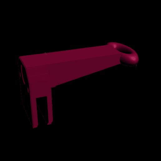 guide filament prusa i3.png Télécharger fichier STL gratuit Guide fil pour imprimante Prusa I3  • Objet pour impression 3D, CE_FABLAB_FREE_WORK_EXCHANGE
