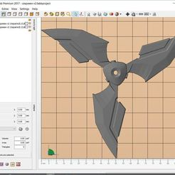 Download free 3D printing models Shuriken blackwatch OW Genji, Skinner