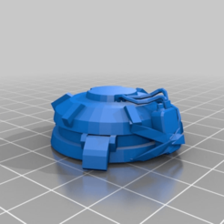 Download free 3D printing designs Trinket junkrat bomb overwatch, Skinner