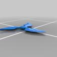 Télécharger fichier STL gratuit Shuriken blackwatch OW Genji • Modèle pour impression 3D, Skinner