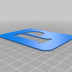 P.png Download free STL file Stencil • 3D printing model, Thomy