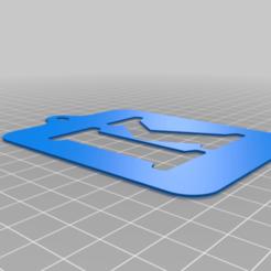 Lettre_K.png Download free STL file Stencil • 3D printing model, Thomy