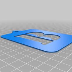 Lettre_B.png Download free STL file Stencil • 3D printing model, Thomy