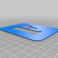 F.png Download free STL file Stencil • 3D printing model, Thomy