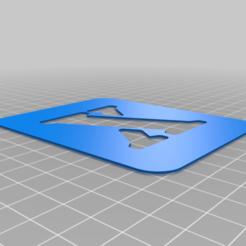 X.png Download free STL file Stencil • 3D printing model, Thomy