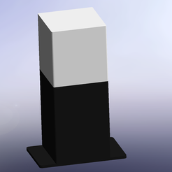 vue1.png Download free STL file Lamp • Template to 3D print, Thomy