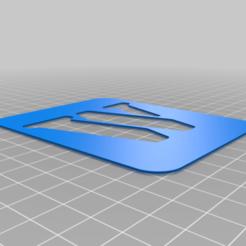W.png Download free STL file Stencil • 3D printing model, Thomy