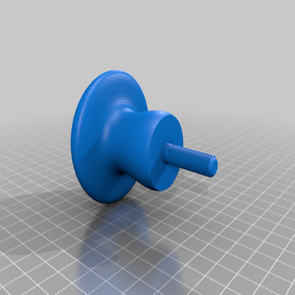champi.png Télécharger fichier STL gratuit poignee ronde • Objet à imprimer en 3D, Thomy