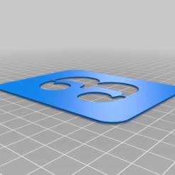 3.png Download free STL file Stencil • 3D printing model, Thomy