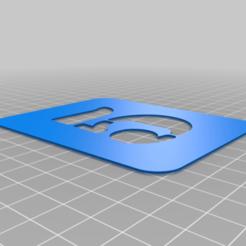 5.png Download free STL file Stencil • 3D printing model, Thomy