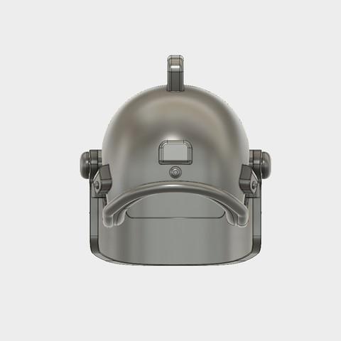 Helmet_Level3_PUBG_6_3DPrint.jpg Download STL file Helmet Rys-T Keyring Pendant • 3D printable template, MaxEmski