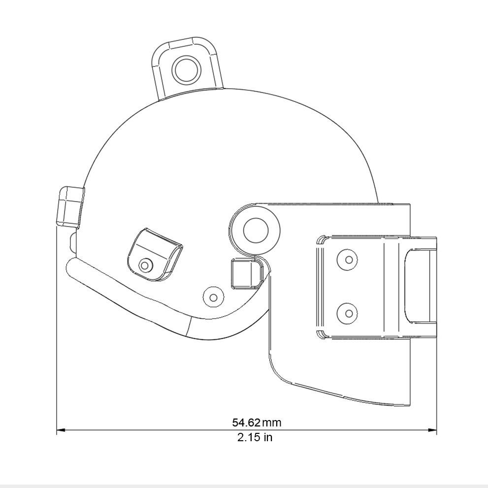 Helmet_Level3_PUBG_18_3DPrint.jpg Download STL file Helmet Rys-T Keyring Pendant • 3D printable template, MaxEmski
