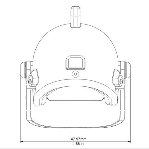 Helmet_Level3_PUBG_17_3DPrint.jpg Download STL file Helmet Rys-T Keyring Pendant • 3D printable template, MaxEmski