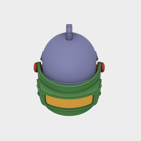 Helmet_Level3_PUBG_11_3DPrint.jpg Download STL file Helmet Rys-T Keyring Pendant • 3D printable template, MaxEmski
