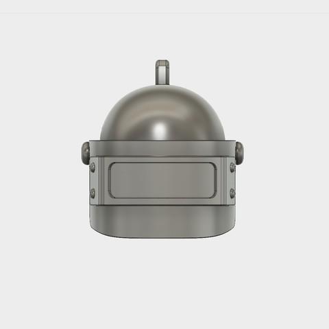 Helmet_Level3_PUBG_7_3DPrint.jpg Download STL file Helmet Rys-T Keyring Pendant • 3D printable template, MaxEmski