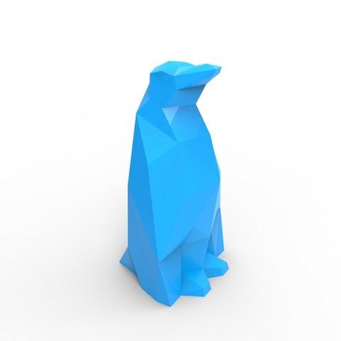 untitled.206.jpg Download STL file Penguin • 3D printer design, GuillermoMP