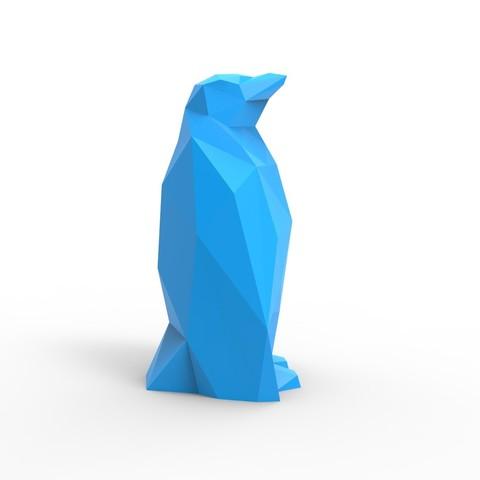untitled.207.jpg Download STL file Penguin • 3D printer design, GuillermoMP