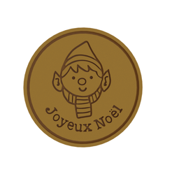 Joyeux Noel V1.png Download STL file Joyeux Noel (Merry Christmas) Cookie Cutter • 3D print design, dwain