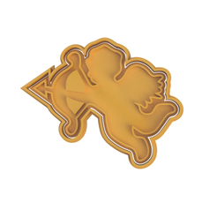 Eros V2.png Download STL file Eros Cookie Cutter (2 Versions in 1) • 3D printer design, dwain