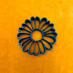 91438047_3259256504104265_837733521408655360_n.jpg Download STL file Daisy Flower Cookie Cutter • 3D printable object, dwain