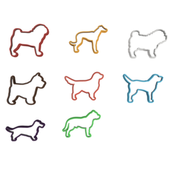 Dog Treats V1.png Download STL file Dog Treats Cookie Cutters (For Personal Use Only) • 3D printing template, dwain